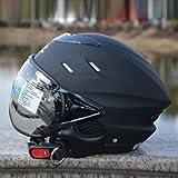 ZEUS 125/ジェット/ヘルメット/バイク用品/半帽/オールシーズン/バイクヘルメット/パイロット/シールド/シールド付き/オープンフェイス FREEサイズ