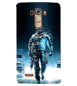 PRINTSHOPPII SUPERHERO Back Case Cover for LG G4::LG G4 H815