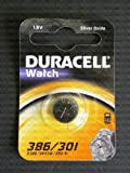 One (1) X Duracell 301 SR43SW Silver Oxide Watch Battery 1.55v Blister Packed