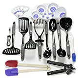 Chef Craft 42065 23-Piece Kitchen Tools And Gadget Set, Gray