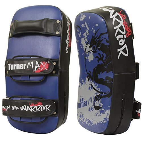 TurnerMAX-Thai-Pad-Boxing-Kick-MMA-Punching-Bag-Strike-Shield-Mitts-Single-Item