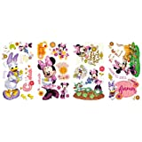 RoomMates Children's Repositonable Disney Wall Stickers, Minnie Mouse Barnyard Cuties