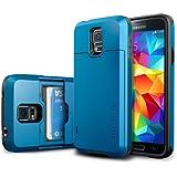 Spigen Neo Hybrid Coque pour Samsung Galaxy S5 Bleu