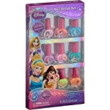 Disney Princess Peel-able Non-toxic Nail Polish Set - 8 pc.