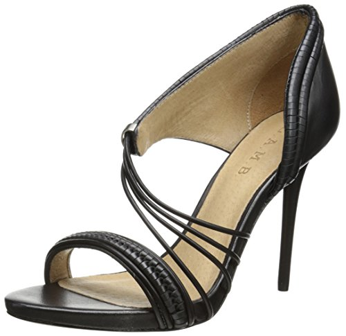 L.A.M.B. Women's Karoline Dress Sandal, Black, 7.5