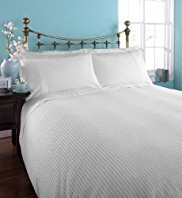 Smart Seersucker Bedset