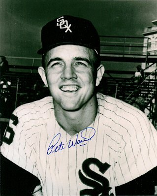 Autographed Photo Pete Ward Chicago White Sox