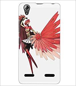 PrintDhaba Cartoon D-5377 Back Case Cover for LENOVO A6000 PLUS (Multi-Coloured)