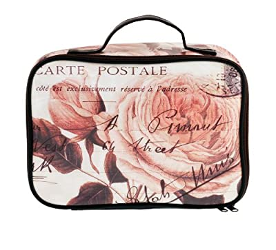 Cheapest Danielle D7260 Wish You Were Here Vintage Collection Large Cosmetic Bag from Danielle - Free Shipping Available