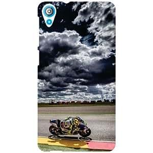 HTC Desire 820 Back Cover - Ride Away Designer Cases