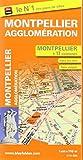 Montpellier - plan de la ville et de son agglomeration