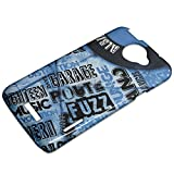 Music 030 Vinyl Record 3D Gloss Hard Back Case Cover Protector Skin Shell with Colourful Design for HTC One X