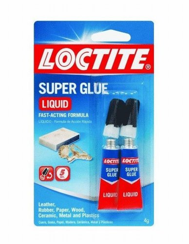 Henkel-Loctite 1363131 Loctite 2G 2pk Super Glue All Purpose Liquid 24 Pack 2pk 36xl 37xl black