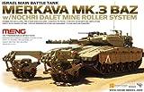 MENGモデル #MTTS-005/ 1/35 イスラエル主力戦車 メルカバ バズ Mk.3 BAZ w/Nochri Dalet マインローラー搭載 (プラモデルキット)
