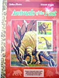 img - for A Golden Stamp Book - Dinosaurs and Other Animals of the Past book / textbook / text book