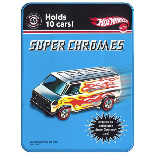 Hot Wheels Super Chromes with 10 Cars - Buy Hot Wheels Super Chromes with 10 Cars - Purchase Hot Wheels Super Chromes with 10 Cars (Hot Wheels, Toys & Games,Categories,Play Vehicles,Vehicle Playsets)