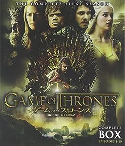 ゲーム・オブ・スローンズ 第一章:七王国戦記 ブルーレイ コンプリート・ボックス [Blu-ray]