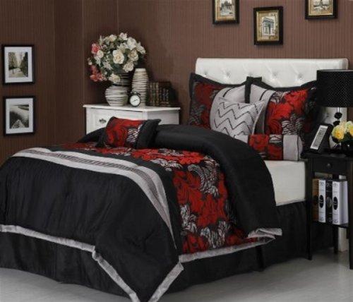 Nanshing Lincoln King 7 Piece Comforter Set front-386094