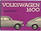 Volkswagen Owner's Manual (Type 3 Squareback and Fastback 1600 Instruction Manual)