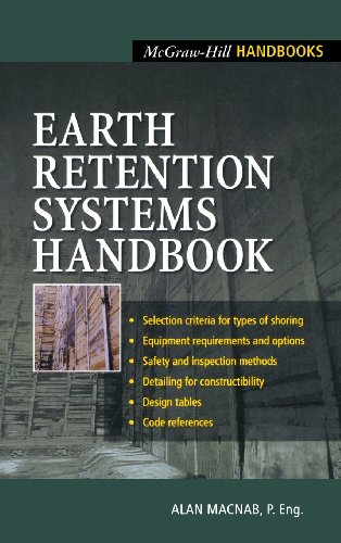 Earth Retention Systems Handbook - McGraw-Hill Professional - 0071373314 - ISBN:0071373314