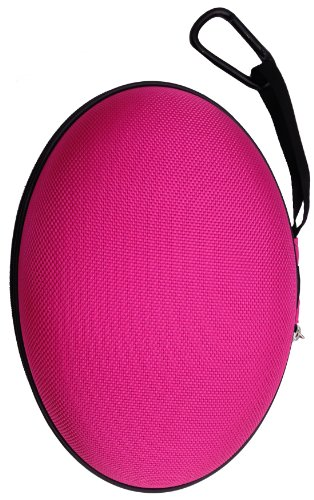 Casebudi Headphone Case - Pink - Compatible With Many Beats By Dr Dre Headphones - Including Studio, Solo, Solo Hd, And Wireless