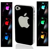 New LED Color Changing Sense Flash Light Protector Case Cover For iPhone 5