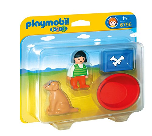 PLAYMOBIL Girl with Dog Set - 1