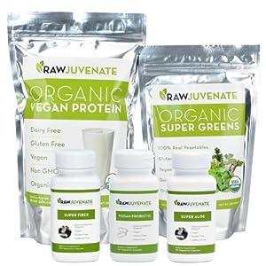 Raw Green Organics Rawjuvenate Complete Detox System, 2.5 Pound