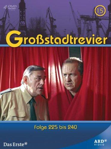 Großstadtrevier Box 15, Folge 225-240 (4 DVDs)