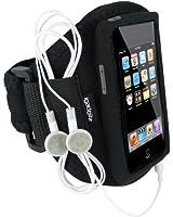 igadgitz r�sistant � l'eau Armband Brassard de sport/jogging/salle de gym, Noir et en N�opr�ne, avec Etui Housse Poche pour Apple iPod Touch 1G 1�re, 2G 2�me, 3G 3�me et 4G 4�me gen g�n�ration, 8 go gb, 16 go gb, 32 go gb & 64 go gb