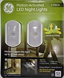 GE Motion-Activated LED Night Lights (Pack of 2)