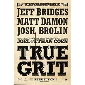 True Grit Poster Print, 11x17
