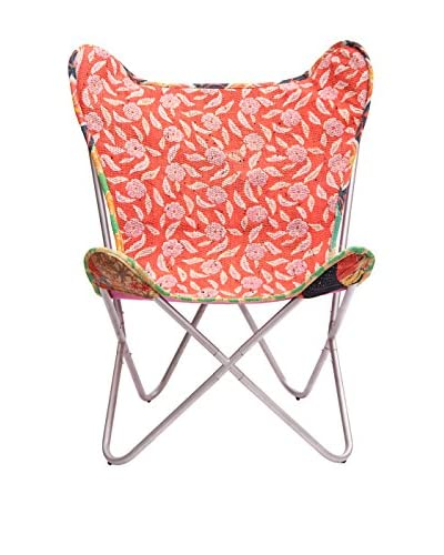 Karma Living Kantha Butterfly Chair, Multi