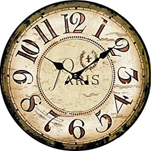 Euro Country Wall Clock Home Kitchen