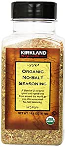 Kirkland Organic No-Salt Seasoning-14.5 oz