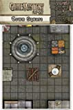 "Town Square: 24"" X 30"" Mat, 1"" Squares on Each Side (Gamemastery Flip-Mat)(Jason Engle)"
