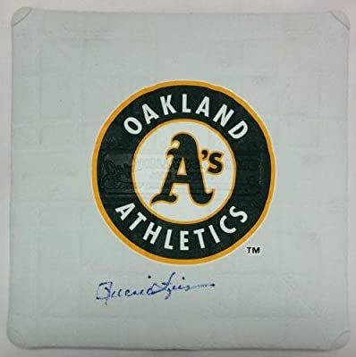 Rollie Fingers Signed Mini Base Autographed Oakland Athletics HOF Schutt - PSA/DNA Certified - MLB Autographed Miscellaneous Items