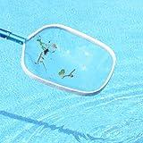 MILLIARD Pool Leaf Skimmer Net: Professional, Heavy-Duty Pool Rake; Durable Aluminum