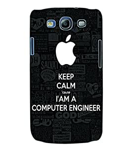 ColourCraft Computer Engineer Quote Back Case Cover for SAMSUNG GALAXY S3 I9300