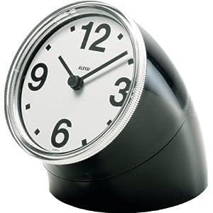 Alessi 01 B Cronotime Orologio da tavolo in ABS, colore Nero   recensione