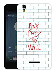 "Humor Gang Pink Floyd The Wall Art Printed Designer Mobile Back Cover For ""Yu Yureka Plus"" (3D, Matte, Premium Quality Snap On Case)"
