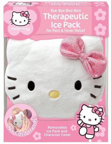 Cosrich Hello Kitty ByeBye BooBoo  Therapeutic Ice Pack For Pain & Fever Relief (Pack of 2)