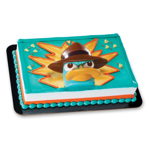 Decopac Phineas and Ferb Agent P Spy Tool DecoSet Cake Topper - 1