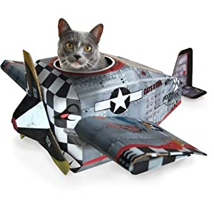 SUCK UK Plane Cat Play House