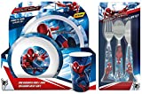 The Amazing Spiderman 2 Six-Piece Dinner Set | Mealtime | Dinnerware