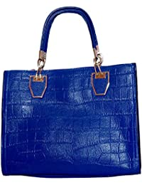 Ruff SAQIMA Blue Casual Handbag Elegant Exclusive Handheld Spacious Handbag Classic Sling Ladies Handbag