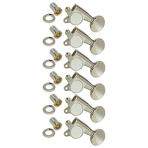 Wd Music Sg3805Cl Sealed Gear Deluxe Guitar Tuning Machines 6 In Line - Chrome