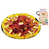 GIANT GUMMY CANDY PIZZA in a Pizza Box (15.34 Oz) – Includes Custom Gift Card (Tamaño: Specialty (15.34 Oz))