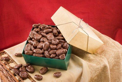 Milk Chocolate Covered Pecans Gift Box