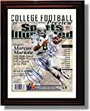 Framed Oregon Ducks Football 2013 Sports Illustrated Preview Marcus Mariota Autograph Photo